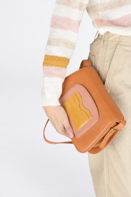 Bolsos de mano Nat & Nin JUDITH Amarillo vista de abajo