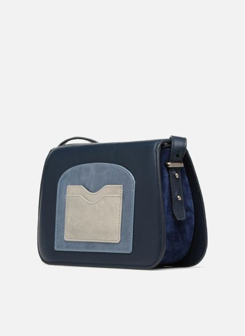 Bolsos de mano Nat & Nin JUDITH Azul vista del modelo