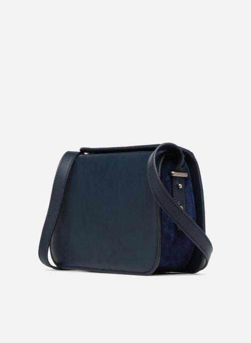 Handtaschen Nat & Nin JUDITH blau ansicht von rechts