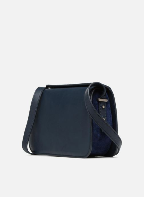 Bolsos de mano Nat & Nin JUDITH Azul vista lateral derecha