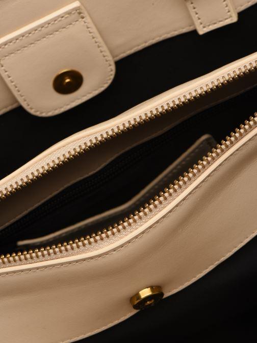 Handtassen Nat & Nin TEREZA Wit achterkant
