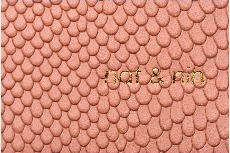Handtassen Nat & Nin TEREZA Roze links