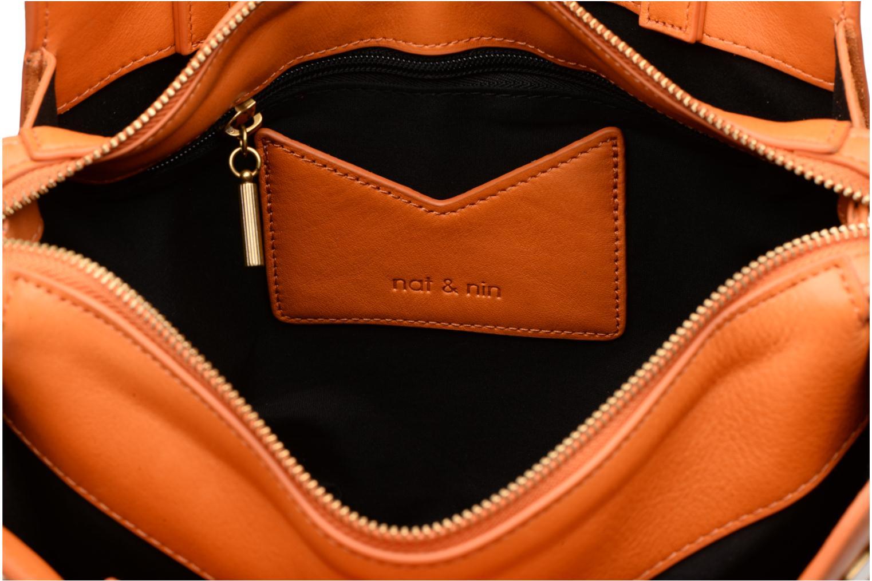 Handtassen Nat & Nin TEREZA Geel achterkant