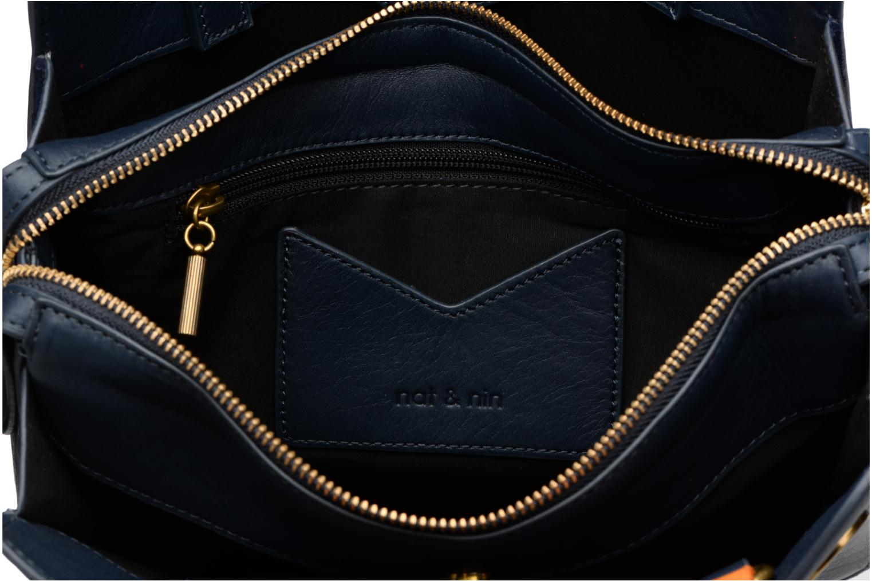 Handtassen Nat & Nin TEREZA Blauw achterkant