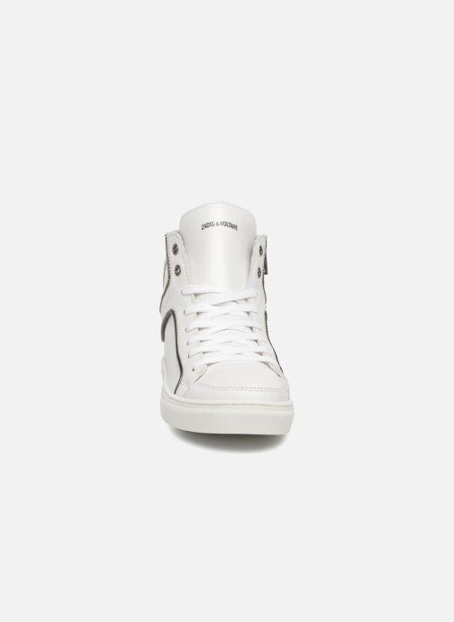 Sneaker Zadig & Voltaire Zoey weiß schuhe getragen