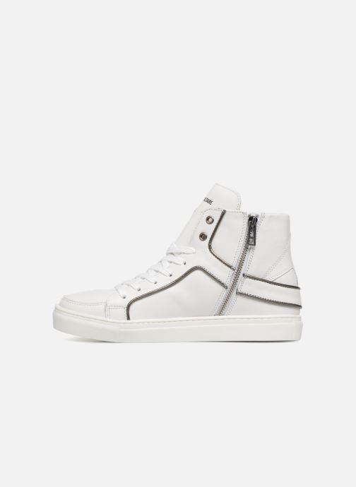 Sneaker Zadig & Voltaire Zoey weiß ansicht von vorne