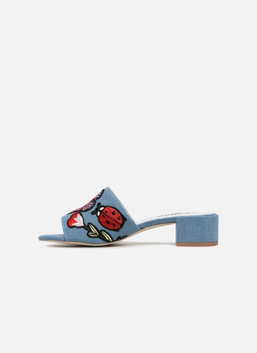 Mules & clogs Jeffrey Campbell Donna Blue front view