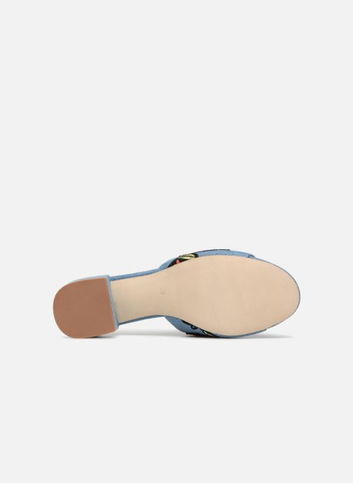 Mules & clogs Jeffrey Campbell Donna Blue view from above