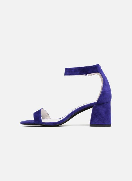 Sandales et nu-pieds Jeffrey Campbell 421 Bleu vue face