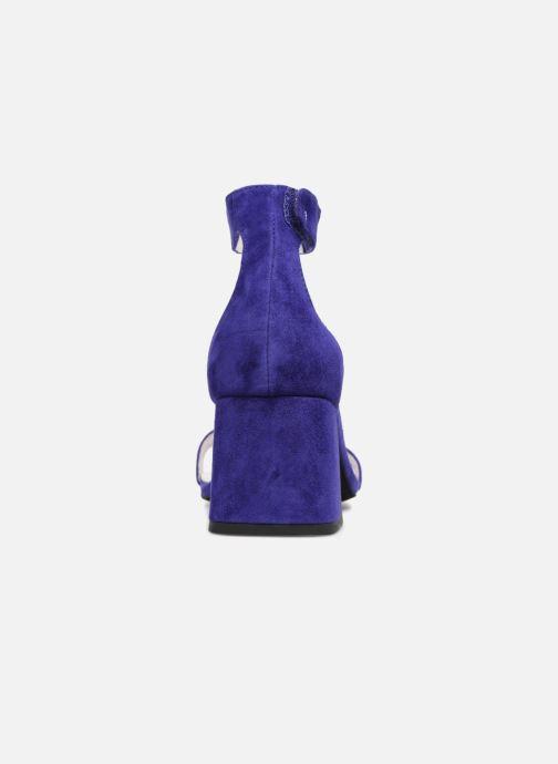 Sandales et nu-pieds Jeffrey Campbell 421 Bleu vue droite