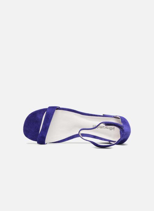 Sandales et nu-pieds Jeffrey Campbell 421 Bleu vue gauche