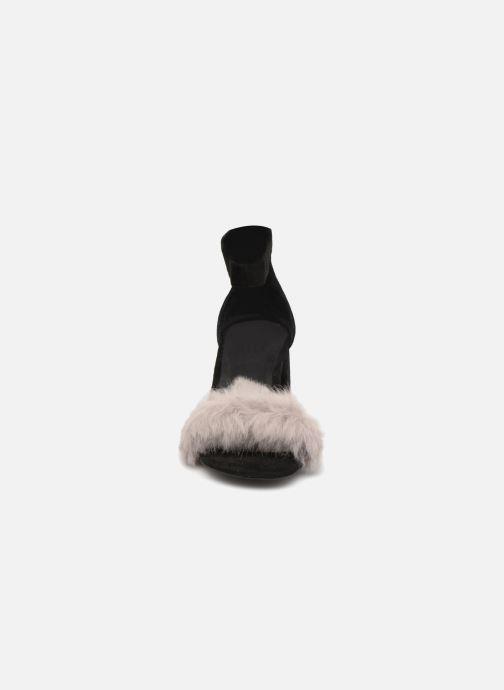 Sandalen Jeffrey Campbell 421 schwarz schuhe getragen