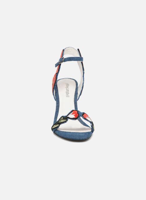 Sandales et nu-pieds Jeffrey Campbell 362 Bleu vue portées chaussures