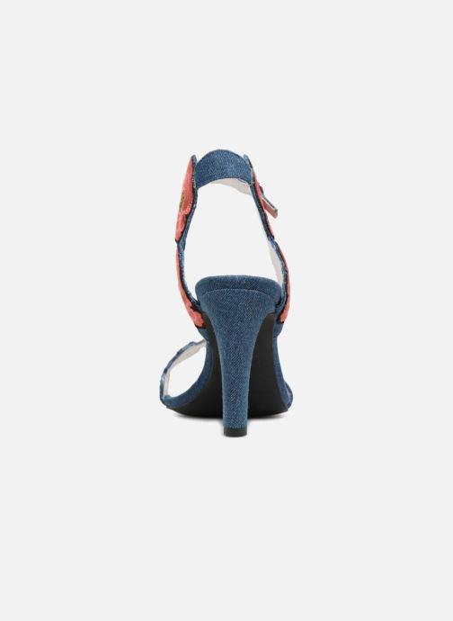 Sandales et nu-pieds Jeffrey Campbell 362 Bleu vue droite