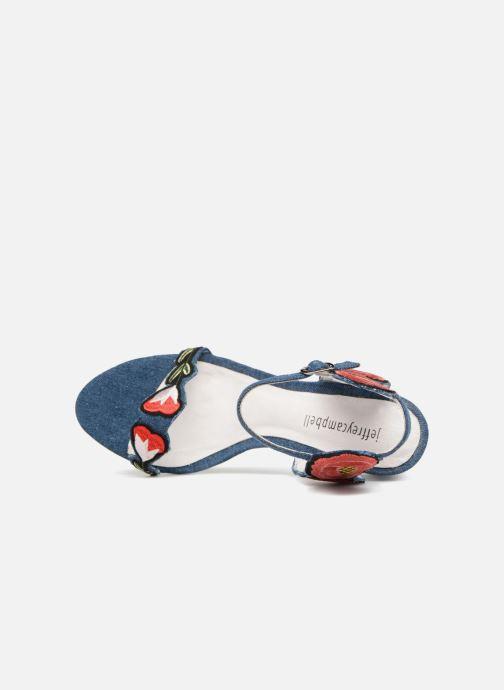 Sandales et nu-pieds Jeffrey Campbell 362 Bleu vue gauche