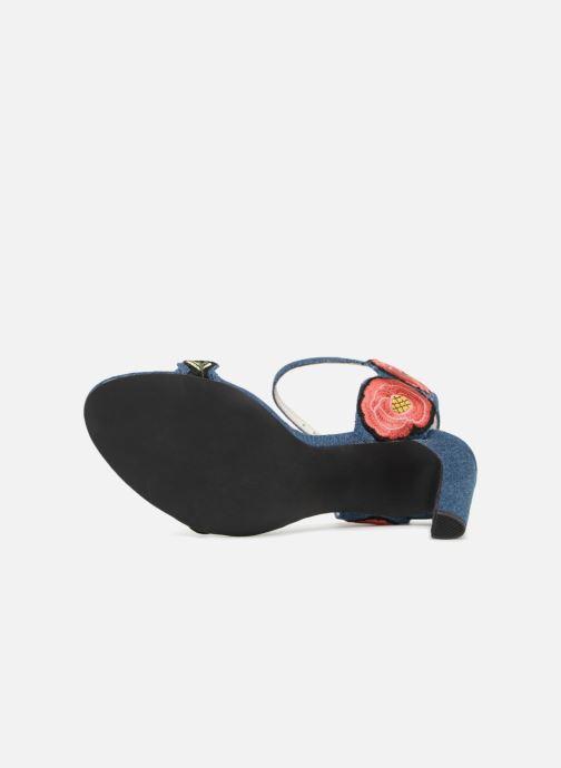 Sandales et nu-pieds Jeffrey Campbell 362 Bleu vue haut