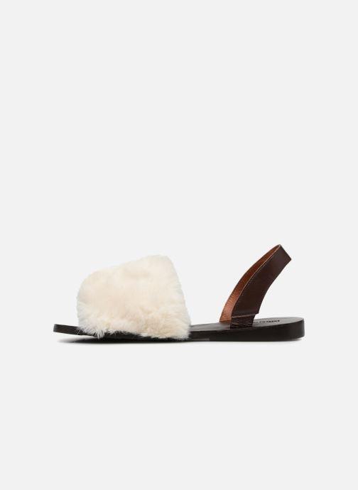 Sandales et nu-pieds Jeffrey Campbell 209 Marron vue face