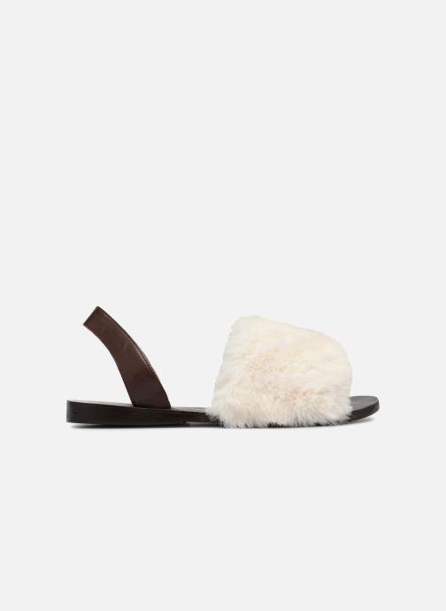 Sandales et nu-pieds Jeffrey Campbell 209 Marron vue derrière