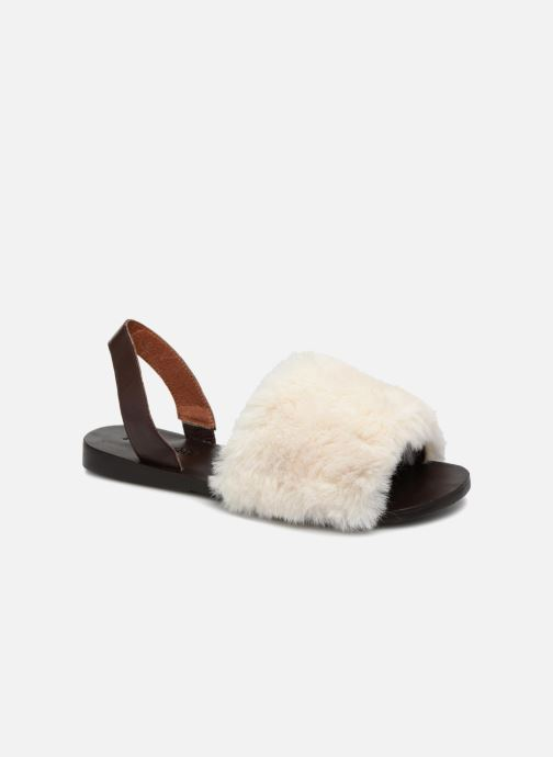 Sandales et nu-pieds Jeffrey Campbell 209 Marron vue détail/paire