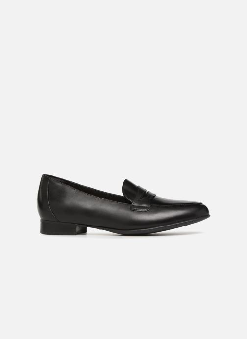 Mocasines Clarks Unstructured Un Blush Go Negro vistra trasera