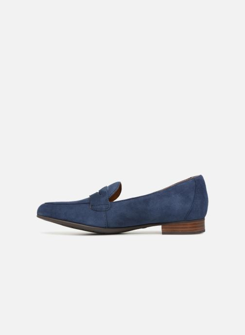 Mocassins Clarks Unstructured Un Blush Go Bleu vue face