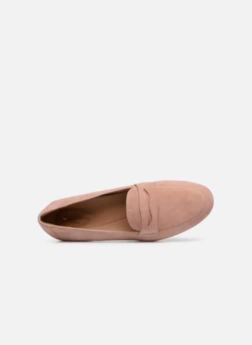 Mocassins Clarks Unstructured Un Blush Go Rose vue gauche