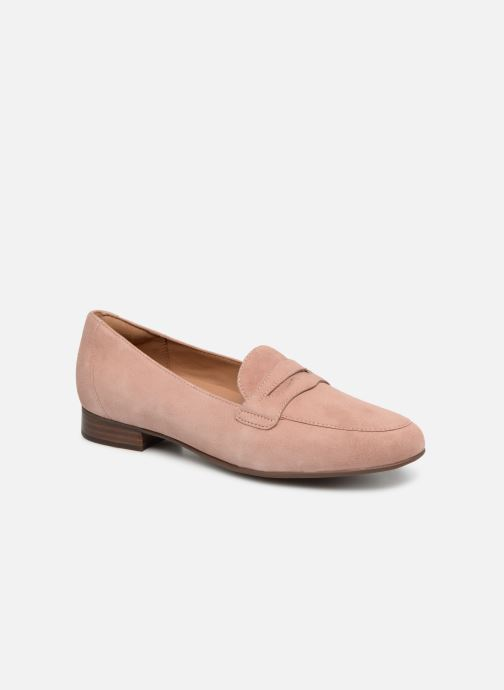 Mocassins Clarks Unstructured Un Blush Go Rose vue détail/paire