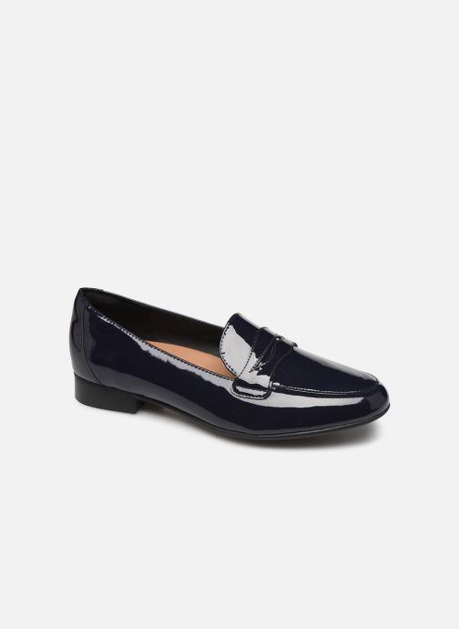 Loafers Clarks Unstructured Un Blush Go Blå detaljeret billede af skoene