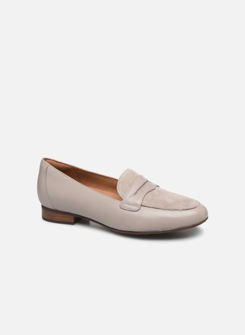 Mocassins Clarks Unstructured Un Blush Go Gris vue détail/paire