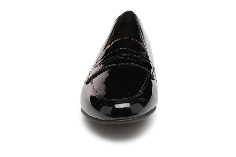 Mocassins Clarks Unstructured Un Blush Go Noir vue portées chaussures