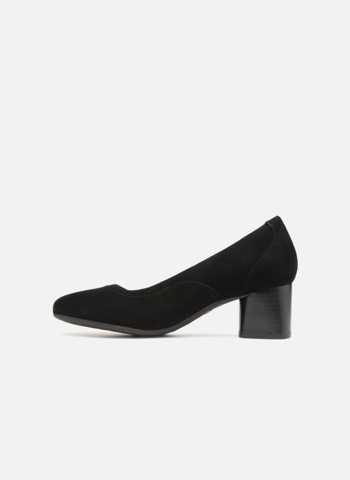 Escarpins Clarks Unstructured Un Cosmo Step Noir vue face