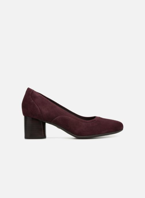Pumps Clarks Unstructured Un Cosmo Step Paars achterkant