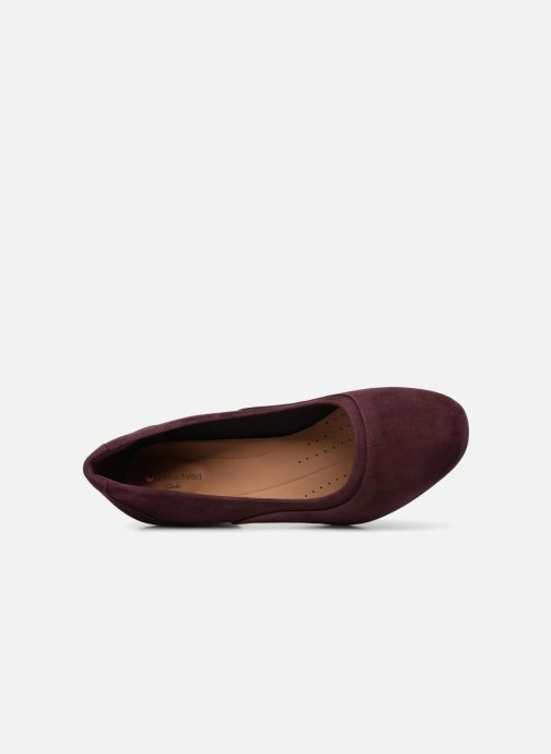 Pumps Clarks Unstructured Un Cosmo Step Paars links