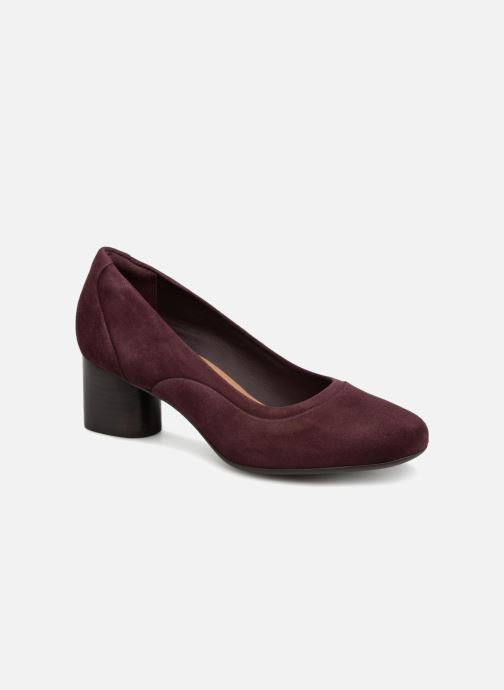 Pumps Clarks Unstructured Un Cosmo Step Paars detail