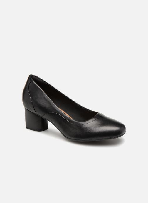 Zapatos de tacón Clarks Unstructured Un Cosmo Step Negro vista de detalle / par