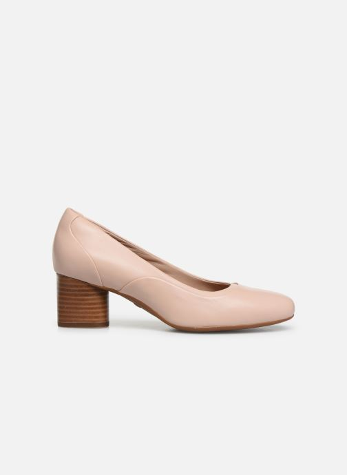 High heels Clarks Unstructured Un Cosmo Step Pink back view