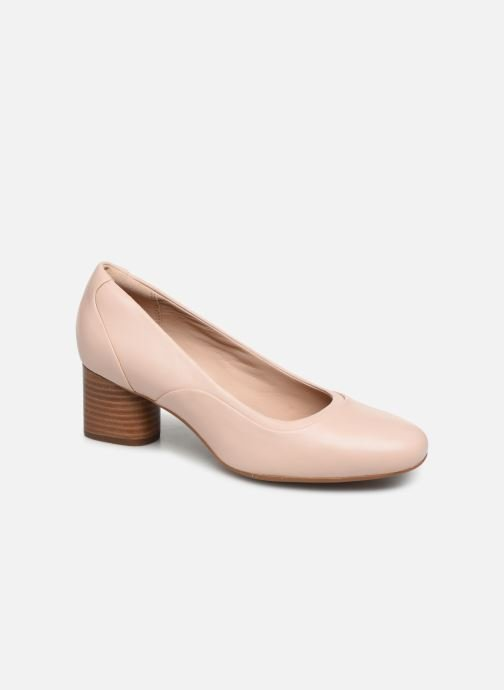 Escarpins Clarks Unstructured Un Cosmo Step Rose vue détail/paire