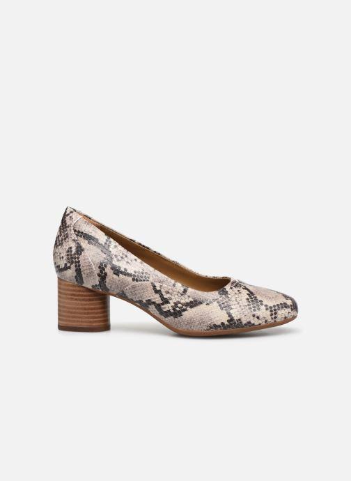 Zapatos de tacón Clarks Unstructured Un Cosmo Step Beige vistra trasera