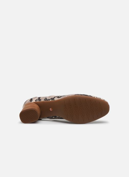 Zapatos de tacón Clarks Unstructured Un Cosmo Step Beige vista de arriba