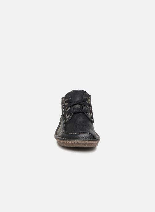 Zapatos con cordones Clarks Unstructured Funny Dream Azul vista del modelo