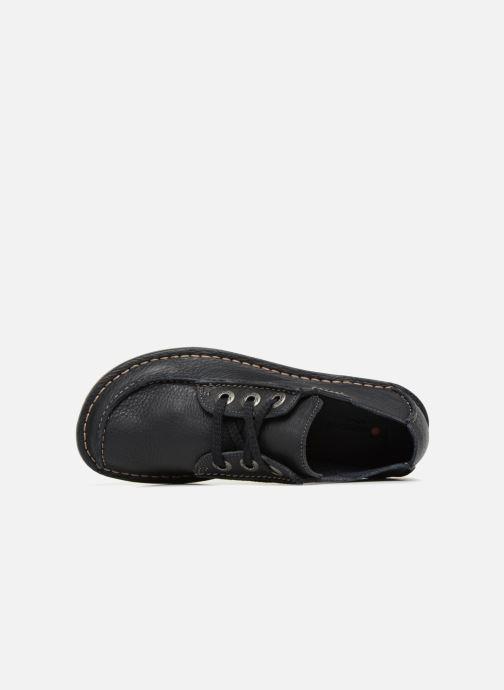 Chaussures à lacets Clarks Unstructured Funny Dream Bleu vue gauche