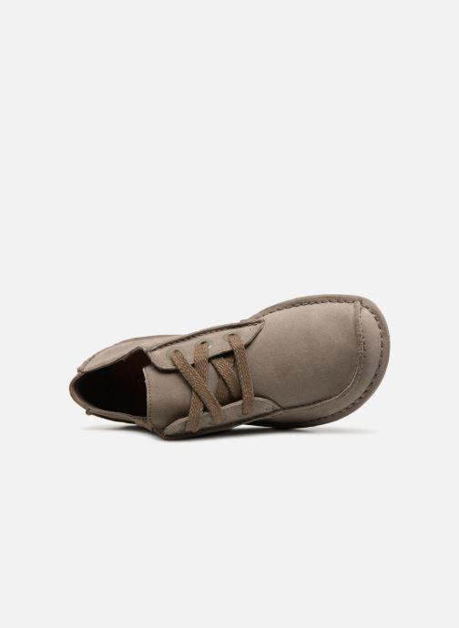 Chaussures à lacets Clarks Unstructured Funny Dream Gris vue gauche