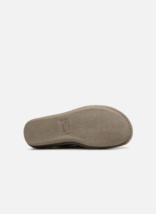 Chaussures à lacets Clarks Unstructured Funny Dream Gris vue haut
