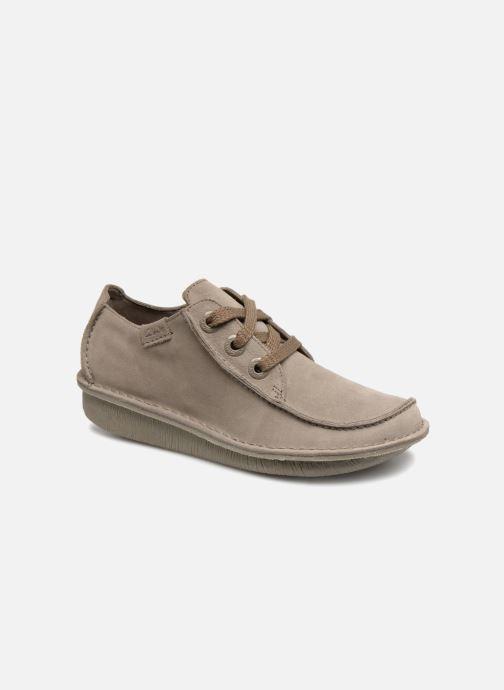Chaussures à lacets Clarks Unstructured Funny Dream Gris vue détail/paire