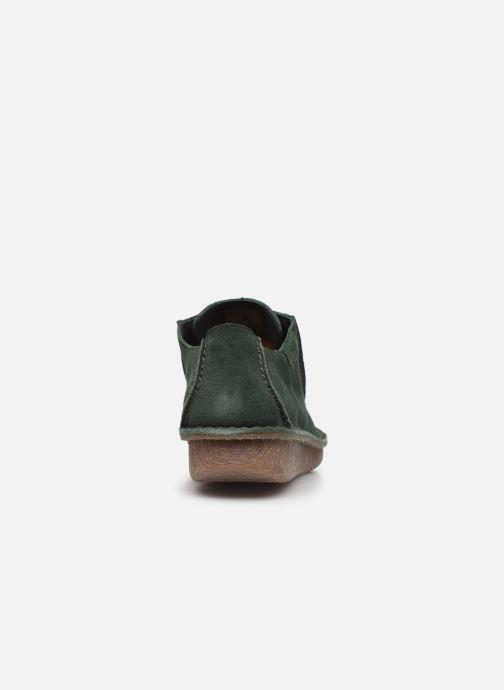 Chaussures à lacets Clarks Unstructured Funny Dream Vert vue droite