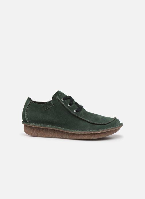 Chaussures à lacets Clarks Unstructured Funny Dream Vert vue derrière