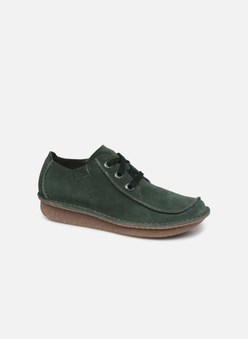 Chaussures à lacets Clarks Unstructured Funny Dream Vert vue détail/paire
