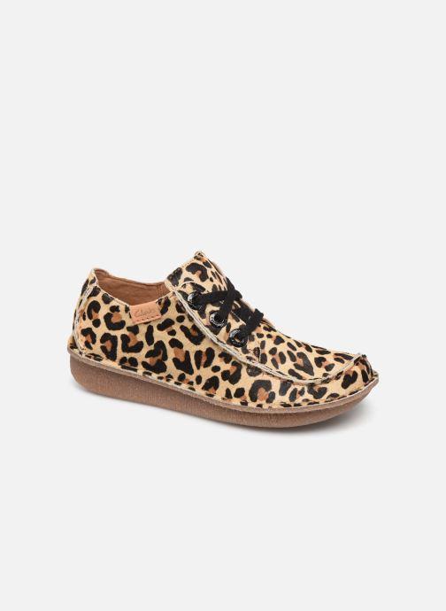 Chaussures à lacets Clarks Unstructured Funny Dream Multicolore vue détail/paire