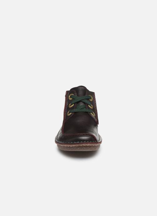 Chaussures à lacets Clarks Unstructured Funny Dream Violet vue portées chaussures