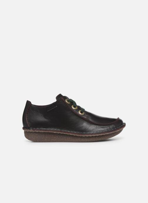 Chaussures à lacets Clarks Unstructured Funny Dream Violet vue derrière